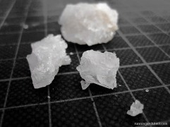 sample of salt crystals