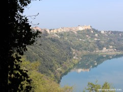 albano lake and castel gandolfo
