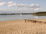 At the beach, approaching Bautzen, Germany