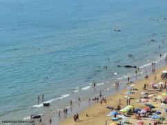 beach in Sperlonga, Italy