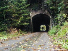 concrete tunnel