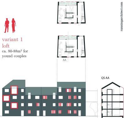 variant 1 - loft