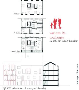 variant 2a - townhouse