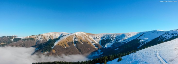 panorama of Velka Fatra