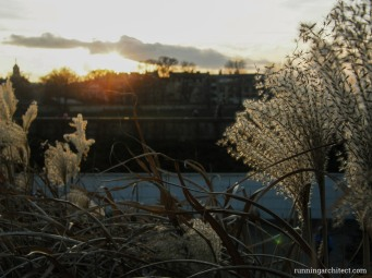 sunset at riverside_wisla
