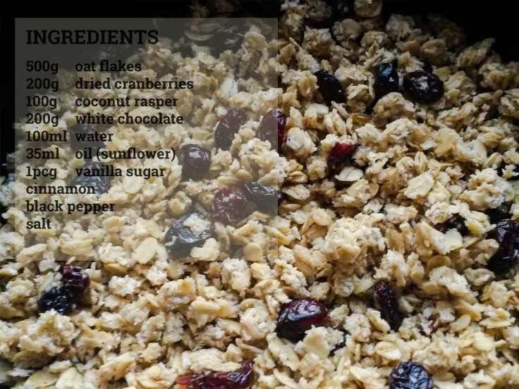 granola recipe white